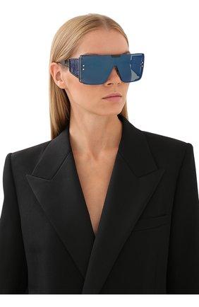 Женские солнцезащитные очки BALMAIN черного цвета, арт. BPS-102G | Фото 2 (Тип очков: С/з; Оптика Гендер: оптика-унисекс)