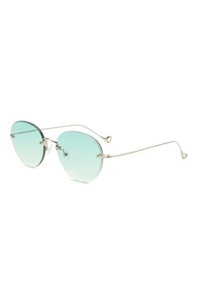 Женские солнцезащитные очки EYEPETIZER бирюзового цвета, арт. CARY 1-21 | Фото 1 (Тип очков: С/з; Оптика Гендер: оптика-унисекс)