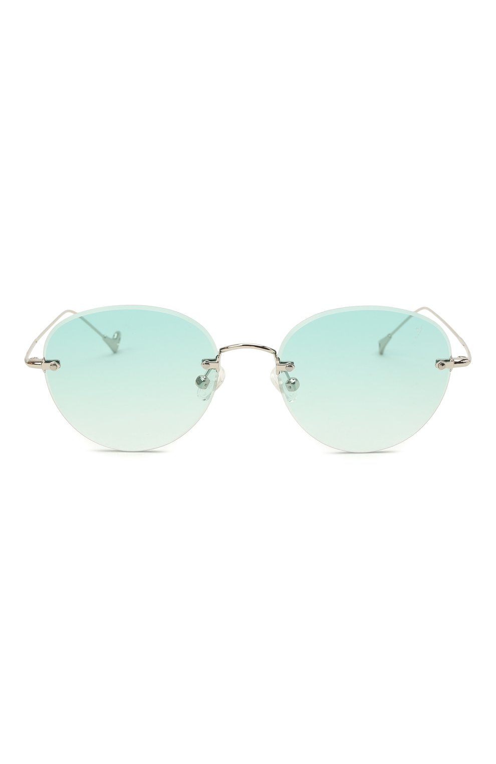 Женские солнцезащитные очки EYEPETIZER бирюзового цвета, арт. CARY 1-21 | Фото 4 (Тип очков: С/з; Оптика Гендер: оптика-унисекс)