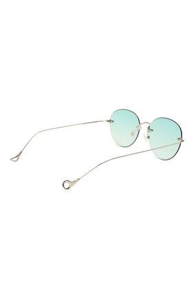 Женские солнцезащитные очки EYEPETIZER бирюзового цвета, арт. CARY 1-21 | Фото 5 (Тип очков: С/з; Оптика Гендер: оптика-унисекс)