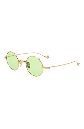 Женские солнцезащитные очки EYEPETIZER зеленого цвета, арт. JEREMY 4-1   Фото 1 (Тип очков: С/з; Оптика Гендер: оптика-унисекс)