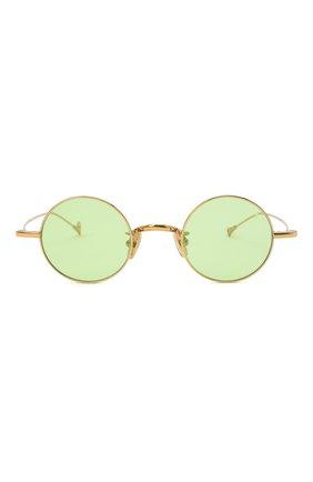 Женские солнцезащитные очки EYEPETIZER зеленого цвета, арт. JEREMY 4-1   Фото 4 (Тип очков: С/з; Оптика Гендер: оптика-унисекс)