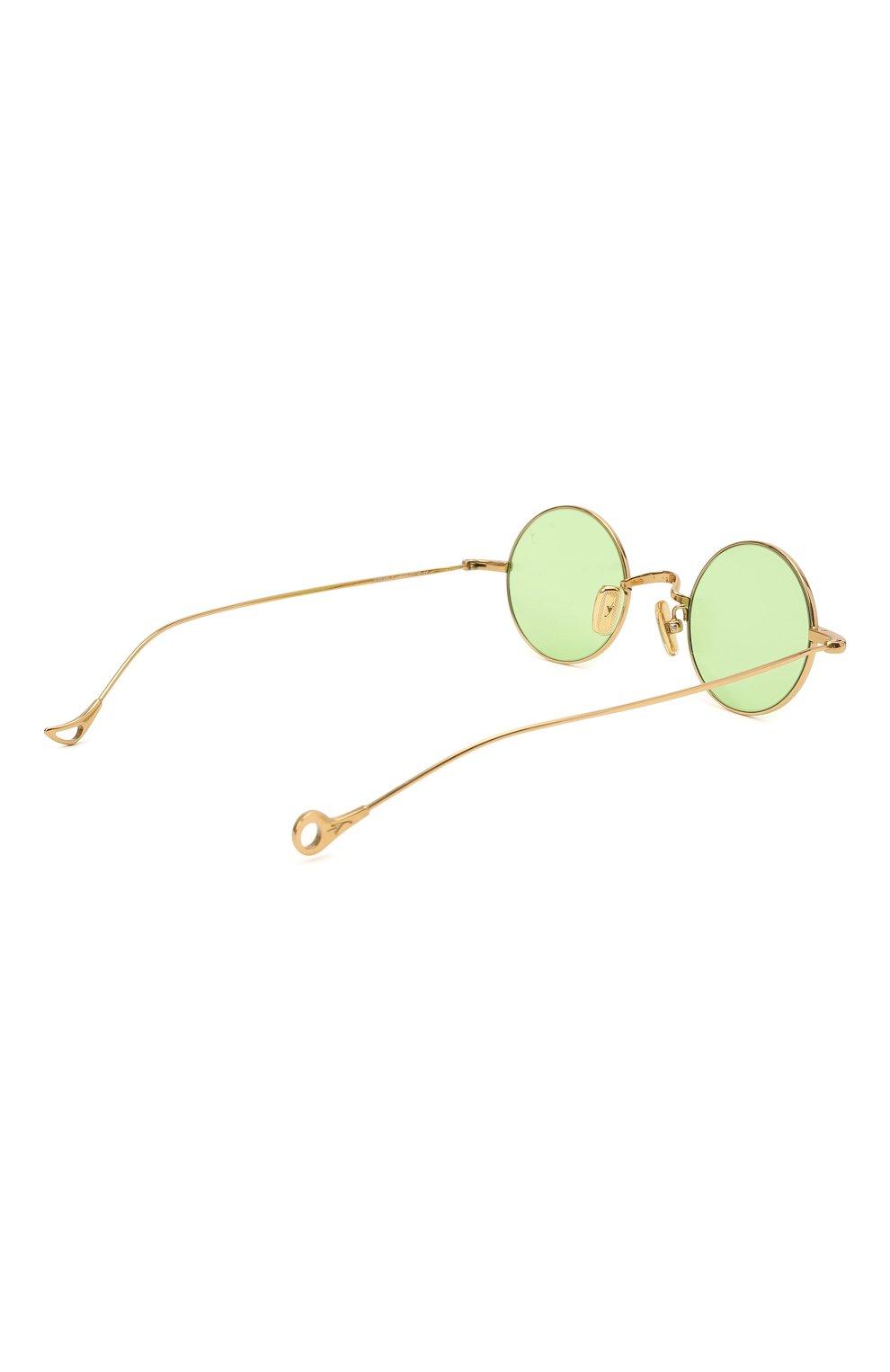 Женские солнцезащитные очки EYEPETIZER зеленого цвета, арт. JEREMY 4-1   Фото 5 (Тип очков: С/з; Оптика Гендер: оптика-унисекс)