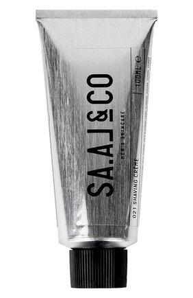 Мужская крем для бритья SA.AL&CO бесцветного цвета, арт. 9120070770021 | Фото 1