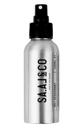 Мужской дезодорант SA.AL&CO бесцветного цвета, арт. 9120070770052 | Фото 1