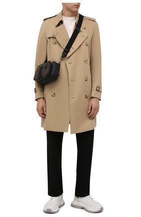 Мужская сумка mhadd BALLY коричневого цвета, арт. MHADD.STM/01 | Фото 2 (Ремень/цепочка: На ремешке; Материал: Экокожа)