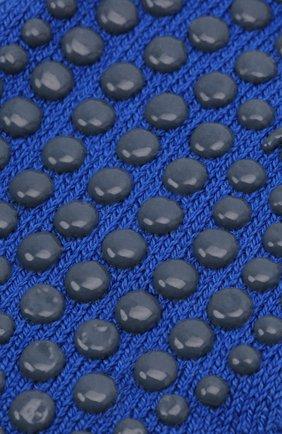 Детские носки из хлопка и шерсти FALKE синего цвета, арт. 10500. | Фото 2 (Материал: Хлопок, Текстиль)