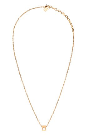 Женская кулон на цепочке SAINT LAURENT прозрачного цвета, арт. 669597/Y1505 | Фото 1 (Материал: Металл)