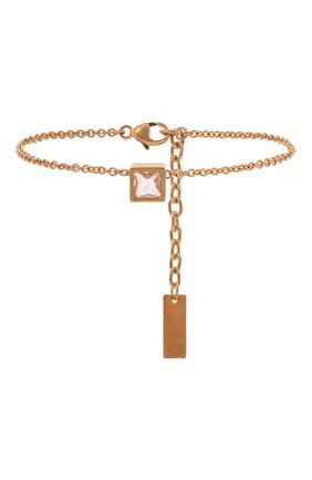 Женский браслет SAINT LAURENT золотого цвета, арт. 671418/Y1505   Фото 1 (Материал: Металл)