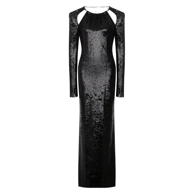 Платье с пайетками The Attico