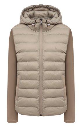 Женская куртка POLO RALPH LAUREN хаки цвета, арт. 211844794 | Фото 1 (Рукава: Длинные; Материал внешний: Синтетический материал; Длина (верхняя одежда): Короткие; Материал подклада: Синтетический материал; Кросс-КТ: Куртка; Стили: Кэжуэл)