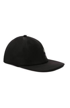 Женская бейсболка KENZO черного цвета, арт. FB65AC223F21 | Фото 1 (Материал: Синтетический материал, Текстиль)