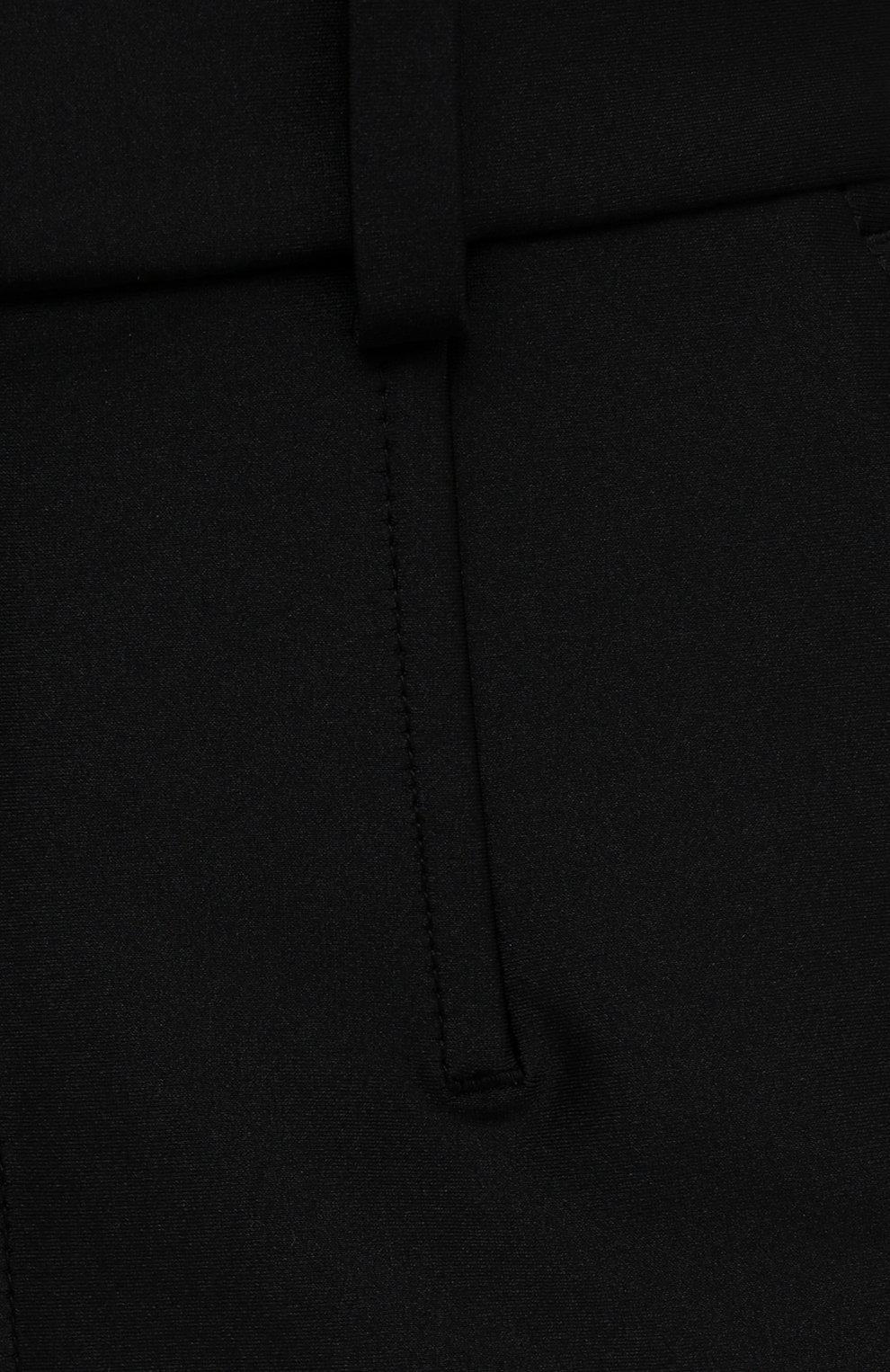 Женские шорты ALEXANDER WANG черного цвета, арт. 1CC3214379 | Фото 5 (Женское Кросс-КТ: Шорты-одежда; Длина Ж (юбки, платья, шорты): Мини; Материал внешний: Синтетический материал; Стили: Кэжуэл)