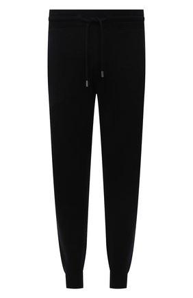 Мужские джоггеры из хлопка и шерсти BOSS черного цвета, арт. 50457692 | Фото 1 (Материал внешний: Шерсть, Хлопок; Длина (брюки, джинсы): Стандартные; Силуэт М (брюки): Джоггеры; Мужское Кросс-КТ: Брюки-трикотаж; Стили: Спорт-шик)