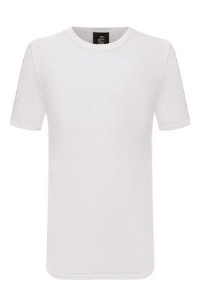 Мужская футболка THOM KROM белого цвета, арт. M TS 591 | Фото 1 (Материал внешний: Хлопок, Синтетический материал; Длина (для топов): Стандартные; Рукава: Короткие; Принт: Без принта; Стили: Гранж)