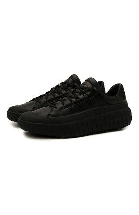 Мужские кроссовки gr.1p Y-3 черного цвета, арт. GZ9149/M | Фото 1 (Подошва: Массивная; Материал внутренний: Натуральная кожа; Стили: Спорт)