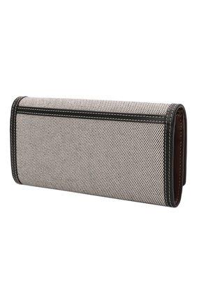 Женские кошелек BURBERRY черного цвета, арт. 8044349 | Фото 2 (Материал: Текстиль)
