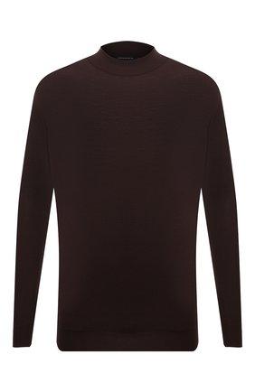 Мужской шерстяная водолазка SVEVO коричневого цвета, арт. 1314/3XSA21/MP13 | Фото 1 (Материал внешний: Шерсть; Рукава: Длинные; Длина (для топов): Стандартные; Мужское Кросс-КТ: Водолазка-одежда; Принт: Без принта; Стили: Кэжуэл; Big sizes: Big Sizes)
