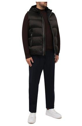 Мужской шерстяная водолазка SVEVO коричневого цвета, арт. 1314/3XSA21/MP13 | Фото 2 (Материал внешний: Шерсть; Рукава: Длинные; Длина (для топов): Стандартные; Мужское Кросс-КТ: Водолазка-одежда; Принт: Без принта; Стили: Кэжуэл; Big sizes: Big Sizes)