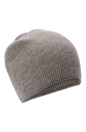 Мужская кашемировая шапка INVERNI серого цвета, арт. 5369 CM   Фото 1 (Материал: Шерсть, Кашемир; Кросс-КТ: Трикотаж)