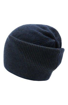 Мужская кашемировая шапка INVERNI хаки цвета, арт. 5369 CM   Фото 2 (Материал: Кашемир, Шерсть; Кросс-КТ: Трикотаж)