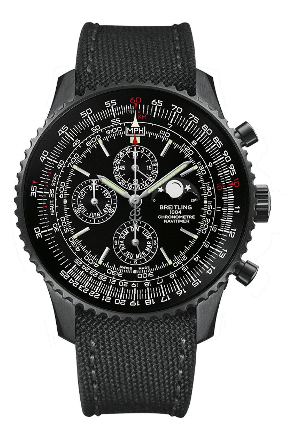 Мужские часы navitimer 1461 BREITLING бесцветного цвета, арт. M1938022/BD20/100W | Фото 1