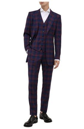 Мужские кожаные оксфорды PREMIATA черного цвета, арт. PREMIATA/REAL | Фото 2 (Материал внутренний: Натуральная кожа; Стили: Классический)