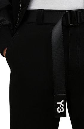 Мужской текстильный ремень Y-3 черного цвета, арт. GK2074/M | Фото 2 (Материал: Текстиль; Случай: Повседневный)