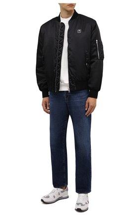 Мужские текстильные кроссовки rockrunner VALENTINO белого цвета, арт. WY2S0723/KIB   Фото 2 (Подошва: Массивная; Материал внешний: Текстиль; Материал внутренний: Текстиль; Стили: Гранж)