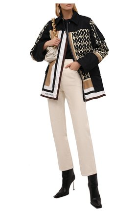 Женская куртка VALENTINO разноцветного цвета, арт. WB3CJ2106JL   Фото 2 (Материал подклада: Синтетический материал; Рукава: Длинные; Длина (верхняя одежда): До середины бедра; Материал внешний: Синтетический материал; Стили: Спорт-шик; Кросс-КТ: Куртка)