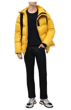 Мужские комбинированные кроссовки leave no trace MONCLER белого цвета, арт. G2-09A-4M716-40-02S16 | Фото 2 (Материал внутренний: Натуральная кожа, Текстиль; Подошва: Массивная; Материал внешний: Текстиль; Стили: Гранж)