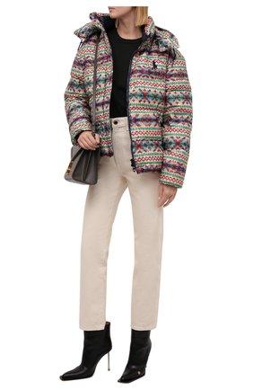 Женская пуховая куртка POLO RALPH LAUREN разноцветного цвета, арт. 211844806 | Фото 2 (Рукава: Длинные; Материал утеплителя: Пух и перо; Материал подклада: Синтетический материал; Материал внешний: Синтетический материал; Длина (верхняя одежда): Короткие; Стили: Спорт-шик; Кросс-КТ: Куртка; Женское Кросс-КТ: Пуховик-куртка)
