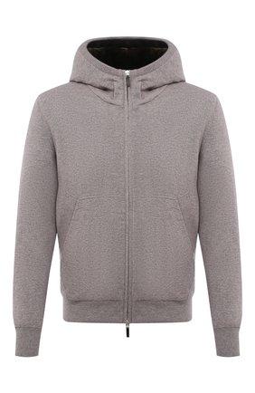 Мужской кашемировый бомбер с меховой подкладкой SVEVO бежевого цвета, арт. 0159SA21/MP01/2 | Фото 1 (Рукава: Длинные; Материал внешний: Кашемир, Шерсть; Длина (верхняя одежда): Короткие; Кросс-КТ: Куртка; Мужское Кросс-КТ: шерсть и кашемир, утепленные куртки; Принт: Без принта; Стили: Кэжуэл)
