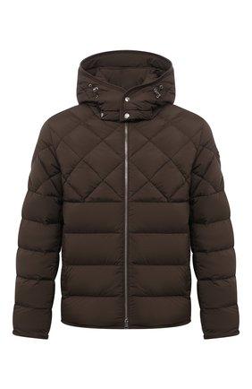 Мужская пуховая куртка cecaud MONCLER хаки цвета, арт. G2-091-1A001-76-C0142 | Фото 1 (Материал внешний: Синтетический материал; Материал утеплителя: Пух и перо; Материал подклада: Синтетический материал; Длина (верхняя одежда): Короткие; Рукава: Длинные; Кросс-КТ: Куртка; Мужское Кросс-КТ: пуховик-короткий; Стили: Кэжуэл)