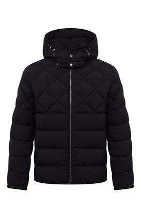 Мужская пуховая куртка cecaud MONCLER темно-синего цвета, арт. G2-091-1A001-76-C0142 | Фото 1 (Материал утеплителя: Пух и перо; Рукава: Длинные; Длина (верхняя одежда): Короткие; Материал подклада: Синтетический материал; Материал внешний: Синтетический материал; Кросс-КТ: Куртка; Мужское Кросс-КТ: пуховик-короткий; Стили: Кэжуэл)