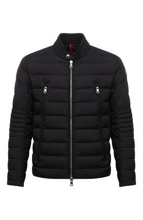 Мужская пуховая куртка amiot MONCLER черного цвета, арт. G2-091-1A001-43-68352 | Фото 1 (Материал подклада: Синтетический материал; Длина (верхняя одежда): Короткие; Материал утеплителя: Пух и перо; Рукава: Длинные; Материал внешний: Синтетический материал; Кросс-КТ: Куртка; Мужское Кросс-КТ: пуховик-короткий; Стили: Кэжуэл)