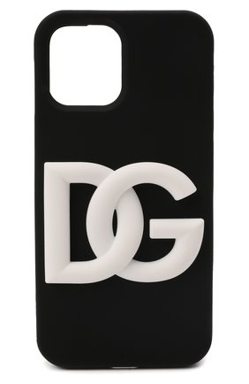 Чехол для iphone 12 pro max DOLCE & GABBANA черного цвета, арт. BP2908/A0976 | Фото 1