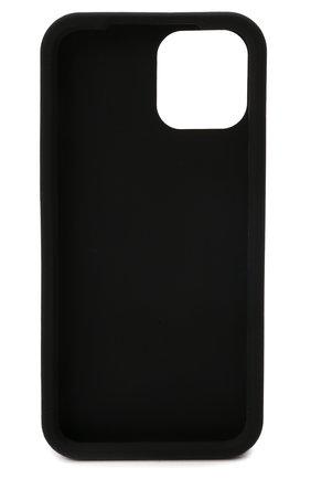Чехол для iphone 12 pro max DOLCE & GABBANA черного цвета, арт. BP2908/A0976 | Фото 2