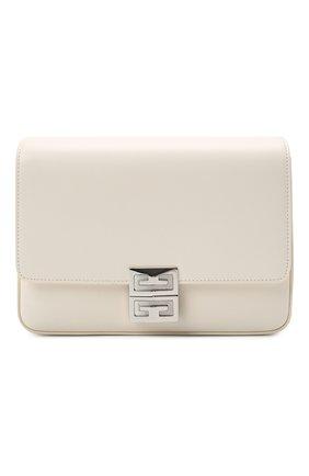 Женская сумка 4g medium GIVENCHY кремвого цвета, арт. BB50HCB15S | Фото 1 (Материал: Натуральная кожа; Размер: medium; Ремень/цепочка: На ремешке)