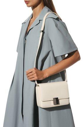 Женская сумка 4g medium GIVENCHY кремвого цвета, арт. BB50HCB15S | Фото 2 (Материал: Натуральная кожа; Размер: medium; Ремень/цепочка: На ремешке)