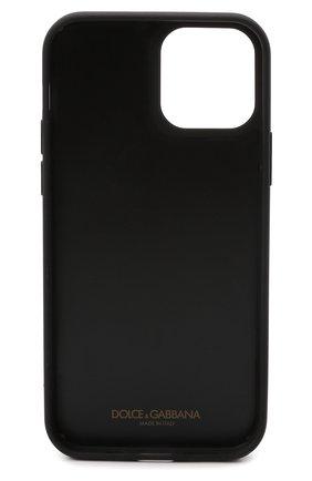 Чехол для iphone 12/12 pro DOLCE & GABBANA белого цвета, арт. BP2905/AZ657   Фото 2