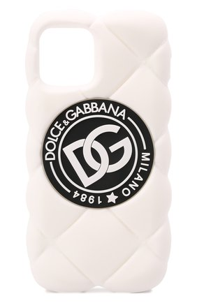 Чехол для iphone 12/12 pro DOLCE & GABBANA белого цвета, арт. BP3028/AQ374   Фото 1
