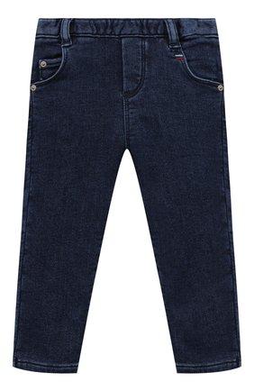 Детские джинсы TARTINE ET CHOCOLAT темно-синего цвета, арт. TT22001/1M-1A | Фото 1 (Материал внешний: Хлопок, Шерсть)