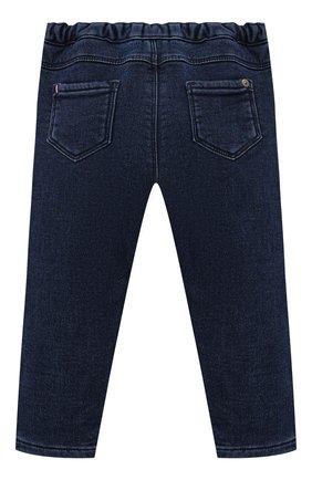 Детские джинсы TARTINE ET CHOCOLAT темно-синего цвета, арт. TT22001/1M-1A | Фото 2 (Материал внешний: Хлопок, Шерсть)