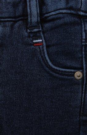 Детские джинсы TARTINE ET CHOCOLAT темно-синего цвета, арт. TT22081/1M-1A | Фото 3 (Материал внешний: Шерсть, Хлопок)