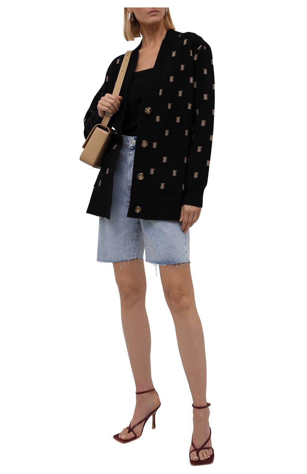 Женские джинсовые шорты KSUBI голубого цвета, арт. 5000006239 | Фото 2 (Женское Кросс-КТ: Шорты-одежда; Кросс-КТ: Деним; Длина Ж (юбки, платья, шорты): Мини, Миди; Стили: Гранж; Материал внешний: Хлопок)