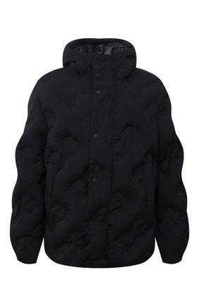 Мужская пуховая куртка DOLCE & GABBANA черного цвета, арт. G9VT0T/GEU35   Фото 1 (Рукава: Длинные; Материал подклада: Синтетический материал; Материал утеплителя: Пух и перо; Длина (верхняя одежда): Короткие; Материал внешний: Синтетический материал; Кросс-КТ: Куртка; Мужское Кросс-КТ: пуховик-короткий; Стили: Кэжуэл)