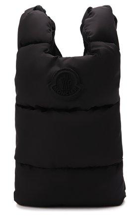 Мужская текстильная сумка MONCLER черного цвета, арт. G2-09A-6B500-00-68950 | Фото 1 (Материал: Текстиль; Ремень/цепочка: На ремешке)