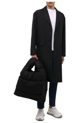 Мужская текстильная сумка-тоут legere MONCLER черного цвета, арт. G2-09A-5D506-00-02SZS | Фото 2 (Материал: Текстиль)