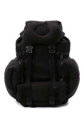 Мужской текстильный рюкзак area MONCLER черного цвета, арт. G2-09A-5A601-00-02T02 | Фото 1 (Ремень/цепочка: На ремешке; Материал: Текстиль)